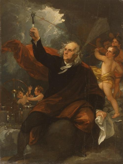 Benjamin Franklin, Patron Spirit of this Blog