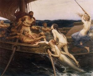 Ulysses and the Sirens, HJ Draper, 1909